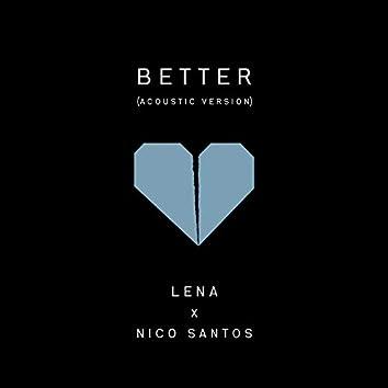 Better (Acoustic Version)
