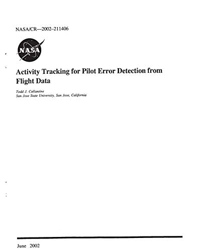 Activity Tracking for Pilot Error Detection from Flight Data (English Edition)