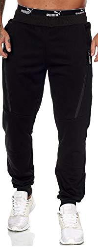 XRebel Kinder Junge Jogging Hose Jogger Streetwear Sporthose Modell W27 (Schwarz, Gr.14(152~158))