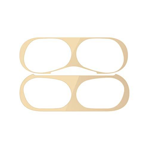 Película Protectora de Polvo Ultrafina para Apple AirPods Pro Etiqueta Protectora de Piel Ultrafina para Air Pods Pro Película de Pegatinas de Metal