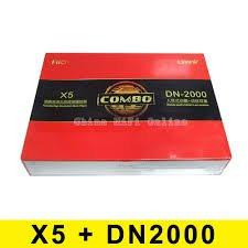 Fiio X5 Musik-Player (tragbar, hohe Auflösung, verlustfrei) und DUNU DN-2000 Hybrid-3-Wege-Kopfhörer