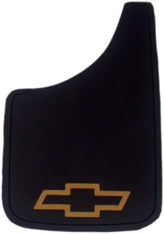 Plasticolor Chevy Gold Bowtie Easy Fit Mud Guard - Set of 2