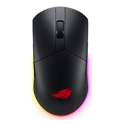ASUS Optical Gaming Mouse - ROG Pugio II | Ergonomic & Truly Ambidextrous PC Gaming Mouse | Configurable & Swappable Side Buttons | 16,00 DPI Optical Sensor | Aura Sync RGB Tactile Mice