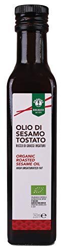 Probios Olio di Sesamo Tostato Bio, Confezione da 6 x 250 ml