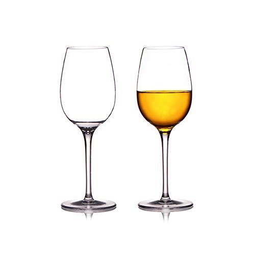 Yidata Copas de vino irrompibles, de plástico, reutilizables, para fiestas, acampadas, 2 unidades
