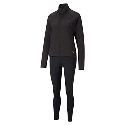 PUMA Active Yogini Woven Suit Chándal, Mujer, Black, M