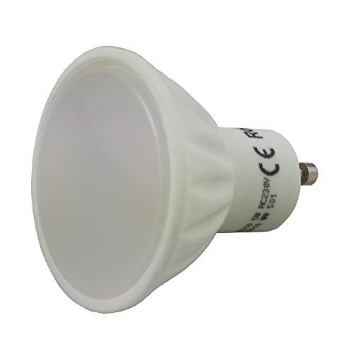 Tevea - Spot 7W blanc chaud Spot LED GU10 spot 230V 60W 530lm - Remplacement ampoule halogène ou incandescente
