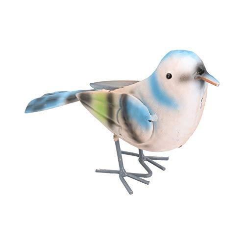 AB Tools Petit Oiseau Britannique Chaffinch Accueil décor Jardin Ornement 5x10x17cm