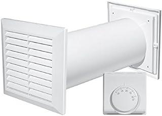 comprar comparacion Turbina de distribución de aire caliente 4 en 1, con ventilador, termostato accesorios