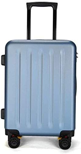 XKstyle Trolley Suitcase Trolley Suitcase Caster Boarding Luggage Suitcase Caster Anti-scratch Customs Lock Luggage Suitcase (size: 20 Inches) (Color : Light Brown, Size : 24Inch)
