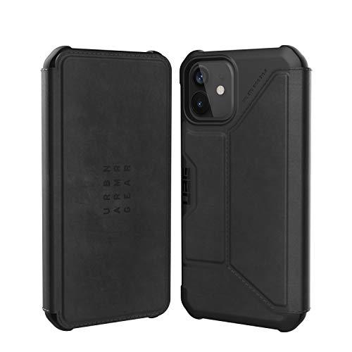 URBAN ARMOR GEAR iPhone 12/12 Pro(6.1) 2020対応耐衝撃ケース METROPOLIS LEATHER ブラック 【日本正規代理店品】 UAG-IPH20MF-LBK