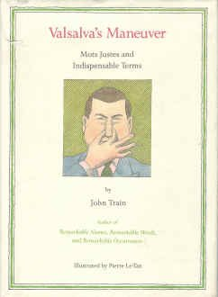 Valsalva's Maneuver: Mots Justes and Indispensable Terms 006016185X Book Cover