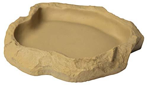 Sera 32036Reptil Food/Water Dish Medium Un Forro de y–Cuenco para Reptiles y Anfibios
