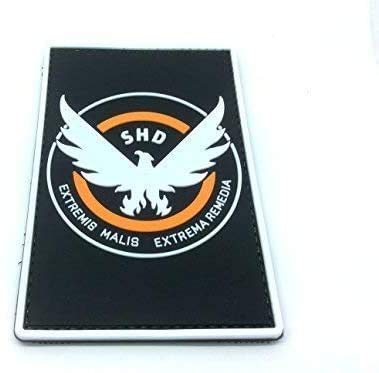 The Division SHD Cosplay Airsoft PVC Klett Emblem Abzeichen Patch