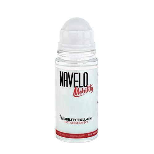 Navelo Wärme Roll On | bei Verspannungen und Schmerzen | mehr als 100 Anwendungen | für unterwegs | kein Chili und Co. | wie Wärmepflaster | bei Nackenschmerzen und Rückenschmerzen (1)