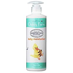 Award-winning Childs Farm Baby moisturiser is mildly fragranced Suitable for newborns and upwards Suitable for sensitive and eczema-prone skin Paediatrician and Dermatologist tested and approved