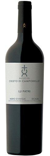 6x 0,75l - 2015er - Cristo di Campobello - Lu Patri - Nero d'Avola - Sicilia D.O.C. - Sizilien - Italien - Rotwein trocken