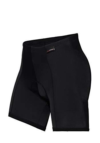 maier sports Damen Radhose Cycle Panty, black, 48