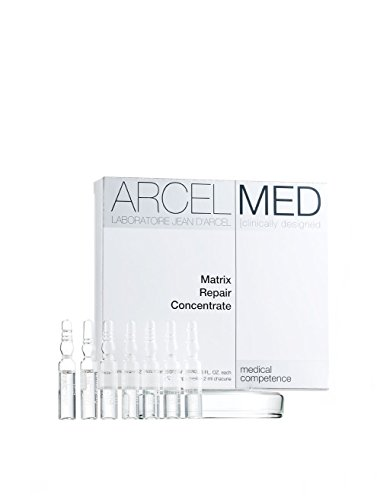 ARCELMED Laboratoire Jean D'Arcel Matrix Repair Concentrate, 7 ampoules, 0.06 fl. oz.each