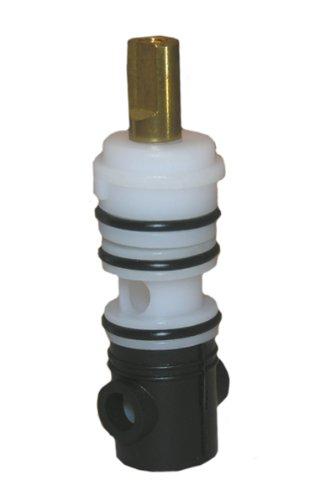 Lasco S-735-4T Import Diverter Stem ,0489,Delex Pattern Broach, For 3 Handle Tub And Shower Valve, Fits Many Import Valves,White/ Black