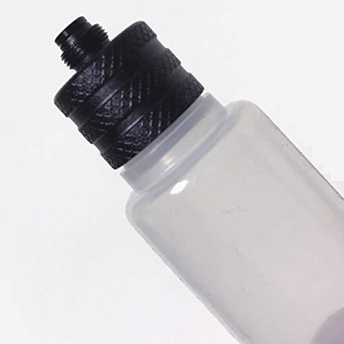 Denghui-ec, Flasche 30ml Tanken Squonk Squeeze Flaschen Mit Aluminiumtropfen for E Zigarette Squonker Mod Athena Pulse Box Mods, Frei von Tabak und Nikotin (Farbe : Random Color)