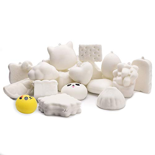 WATINC Random 10 Pcs DIY Squeeze Toys Cream Scented Kawaii Simulation...