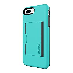 in budget affordable Incipio Stowaway case for iPhone 8 Plus and iPhone 7 Plus integrated with credit card holder …