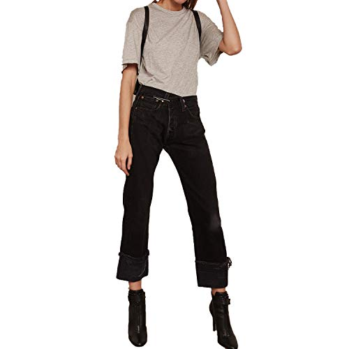 Kendall + Kylie Womens T-Shirt Bodysuit Heather Grey Extra Small