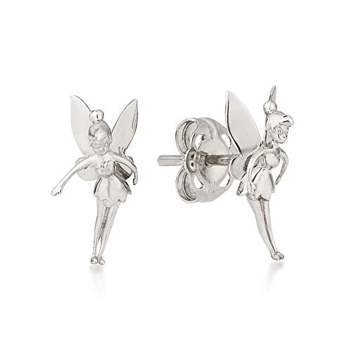 Disney Couture Kingdom Ohrringe Tinkerbell Fee Sterling-Silber 925