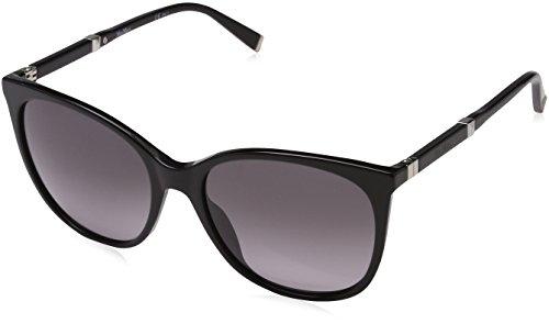 Max Mara Damen MM DESIGN II EU CSA 56 Sonnenbrille, Schwarz (Black Pallad/Grey Sf)
