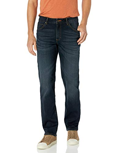Lee Men's Modern Series Straight-Fit Jean, Crooked, 32W X 36L