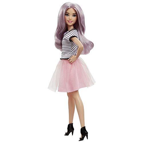 Barbie - Fashionista, muñeca con Vestido Swag (DVX78)