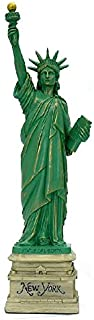 MONKEY KING MK Statue of Liberty Statue Sculpture from New York City Liberty Island Collection Souvenirs (8.25 Inches Tall)