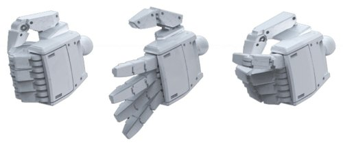 Bandai Hobby Builders Parts HD MS Hand 01 EFSF (1/100 Scale)