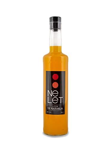 Nelet - Licor de naranja artesanal 20{b0637f4e848a5b44d0ba63b8d8ccef95740bf12a3fc990659d8ae59db1ba818d} Vol (50 cl)