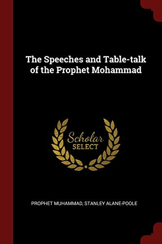 SPEECHES & TABLE-TALK OF THE P