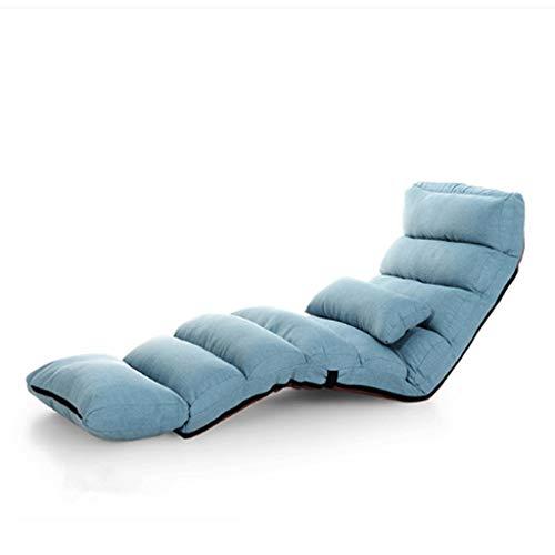 YUTRD ZCJUX Sofá Cama Moderno salón tapizado reclinable reclinable Sala de Estar reclinable Piso Plegable Plegable Ajustable Dormitorio salón