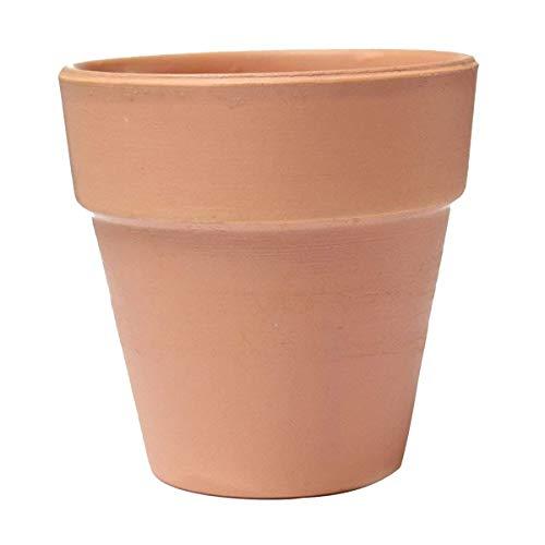 HEMFV 4 Ensemble de Grandes Pots d'argile en Terre Cuite en Terre Cuite céramique poterie planteur Cactus Fleur Pots Succulents Pot de Drainage Trou Cadre (Size : 10cm)