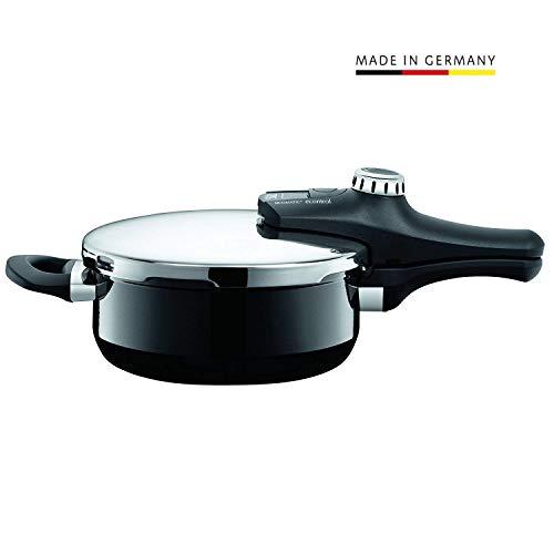 Silit Sicomatic econtrol pentola a Pressione 3L Senza Inserto Ø 22cm Nero Made in Germany tacche di misurazione Silargan Funzione Ceramica induzione Nr 2120275817