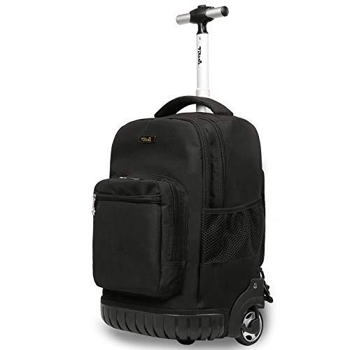 TABITORA(タビトラ) スーツケース リュックキャリー ビジネスバッグ 旅行バッグ リュックサック 機内持込 ビジネス 静音 大容量 通勤 通学 出張 男女兼用 ブラック