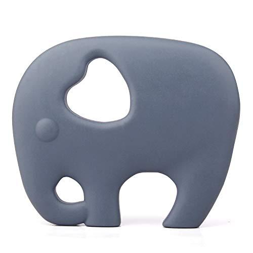 PREMYO Elefant Beißring für Babys Kühlend -...
