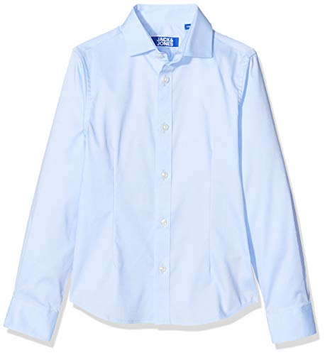 JACK & JONES Jungen JPRPARMA Shirt L/S JR STS Hemd, Blau (Cashmere Blue Cashmere Blue), 152