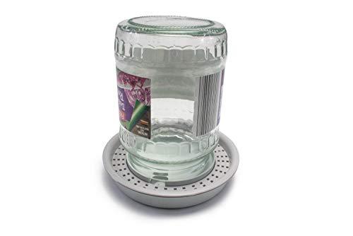 WoodBi Die Neue Bienentränke v2.0 | Tränke für die Bienen | auch zur Einfütterung mit Sirup geeignet | Imker, Imkereibedarf (1 Stück)
