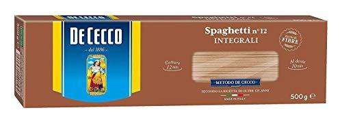 20x Pasta De Cecco spaghetti integrali n. 12 Vollkor italienisch Nudeln 500 g
