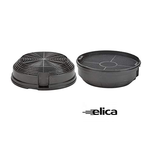 2pz Filtro Carbone Cappa Elica F00478 Turboair Electrolux D.150