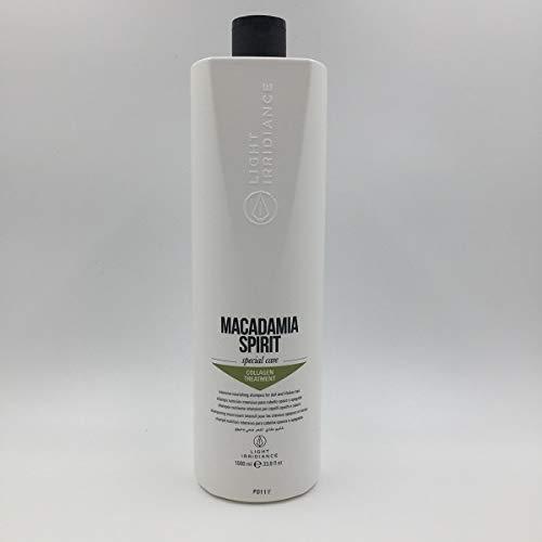 Light irridiance Shampoing Nutritif à l'huile de Macadamia 1000 ml