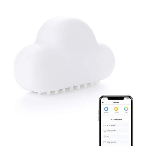 SwitchBot Hub Plus - Telecomando IR Universale Tutto in Uno, Controllo Remoto...