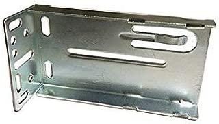 1 Piece Drawer Slides Mount Bracket Rear Mounting Bracket Rear Drawer Track Socket Metal Drawer Slide Rear Bracket for Kitchen Drawer Slide (fits All Kv 8400 Series Drawer Slides) Screws Not Included