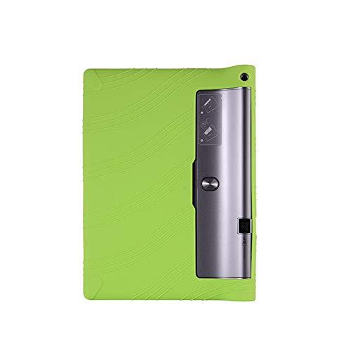RZL Pad y Tab Fundas para Lenovo Yoga Tab 3 Pro 10.1, Funda de Stand de Silicona para niños para Lenovo Yoga Tab 3 Pro 10.1 x90l x90f x90m (Color : Negro)