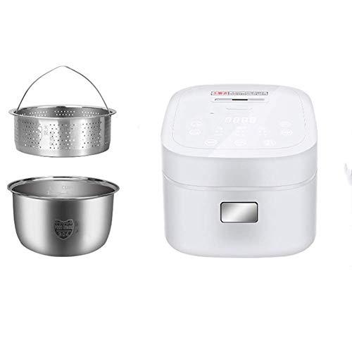 Xiaoyue Smart Zuckerentfernung Reiskocher Multifunktionale (3L 800W) Reis for to 1-4People Vereinbaren Sie einen Termin Hitze Erhaltung Smart Touch lalay